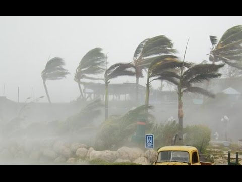 Hurricane Gonzalo Landfall & Hits Bermuda Saint Barts Puerto Rico British Virgin - Tropical Storm!!!