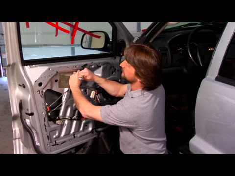 Auto Repair & Maintenance : Installing a Manual Window Regulator