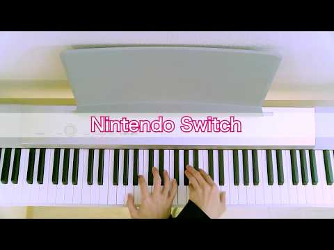 Game Console Startups on Piano *ULTRA REALISTIC*