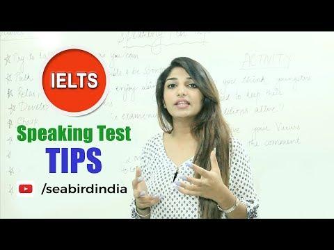 Learn Speaking Test Tips - Seabird International