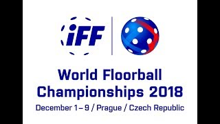 2018 Mens WFC - CZE v FIN Semi-final, uncompleted