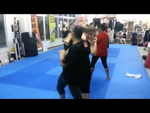 Elbow Combination Ladies Only Kickboxing Image 1