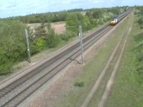 Here are some Trains & Tones i filmed at Yaxley Bridge / Crown lakes near Peterborough whilst waiting for the Class 90 Footex Special.