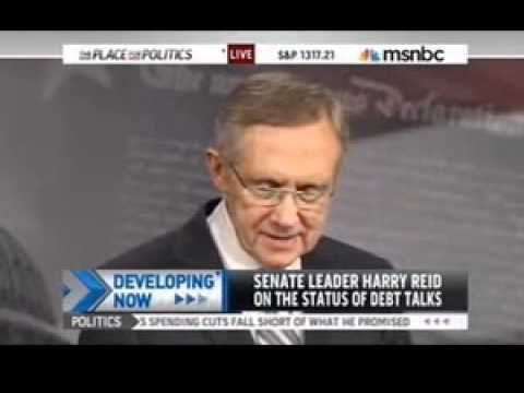 Harry Reid can't start a press conference without Chuck Schumer