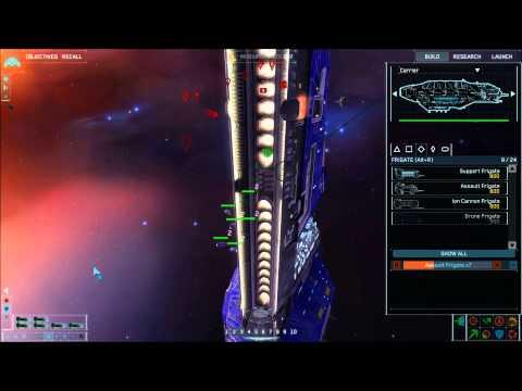 Homeworld Remastered Collection - Homeworld Remastered - Gameplay 2 (Player VS CPU (Skirmish) 2v2)