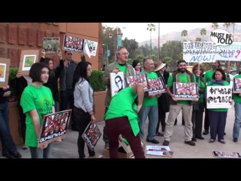 Բողոքի ցույց Լոս Անջելեսում ընդդեմ ՀՀ կառավարության