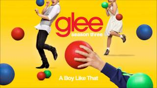 A boy like that - Glee [HD Full Studio]