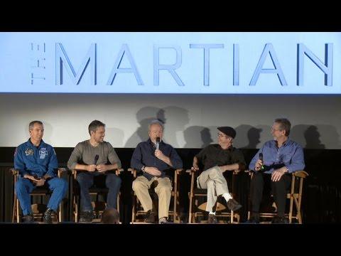 Ridley Scott And Matt Damon On Making Of 'The Martian'