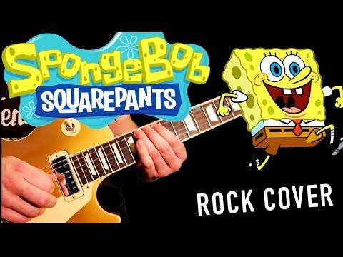 'spongebob Squarepants' Theme Cover - Rock Version W  Guitar Solo! video