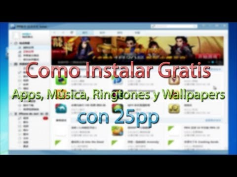 Instalar Apps, Música, Ringtones Gratis con 25pp (Full Review)