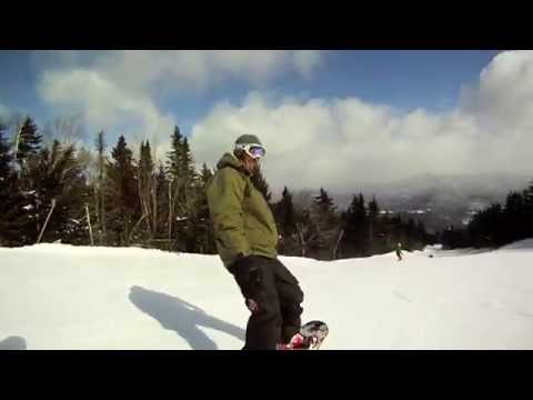 Snowboarding Sunday River Maine