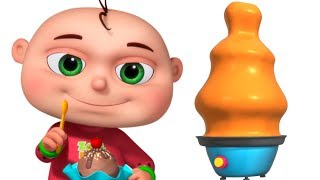 Five Little Babies Going To An Ice Cream Shop | Zool Babies Fun Songs | Videogyan 3d Rhymes