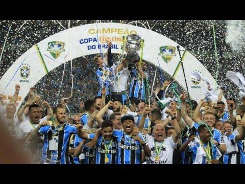 Grêmio empata com o Galo na Arena e conquista o penta da Copa do Brasil