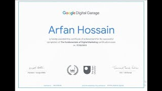 Google Digital Marketing Garage Certification Final Exam Answers | 2019 updated