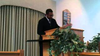 """Hannah got up"" by Minister Larry Glenn"