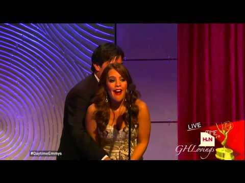 Kristen Alderson WINS Best Actress EMMY! Professes CHAD As The LOVE OF HER LIFE!