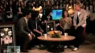 Jonas Brothers Interview Pt.2 Ellen 1-21-08