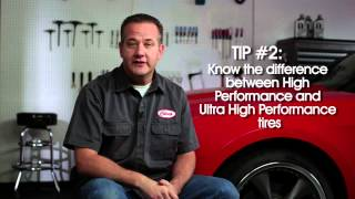 Mobil 1 & eHow: 5 Tips for Performance Tires