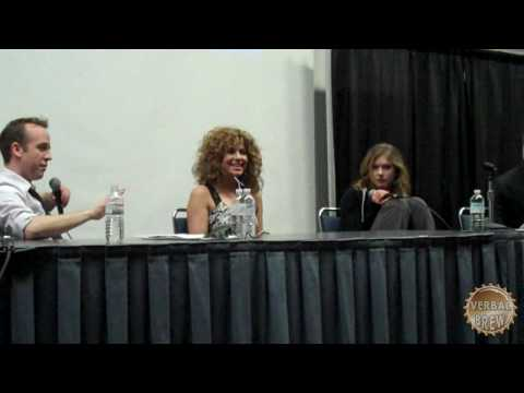 Caprica Panel with Luciana Carro and Magda Apanowicz Part 3 Video