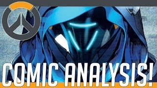 Overwatch Lore - Old Solrs (S76/Reaper/Som/Ana) Comic Review +ysis! | Hammeh
