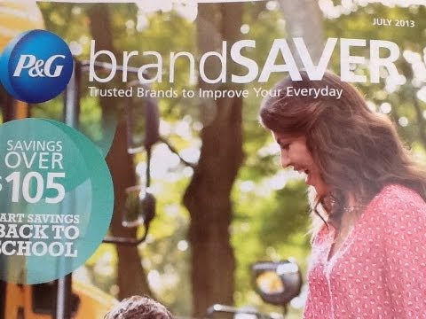 P&G Proctor and Gamble Coupon Insert Preview July 7-7-13