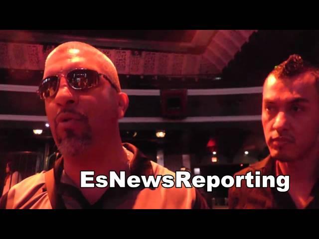 boxing trainer joel diaz on mauricio herrera vs jose benavidez EsNews