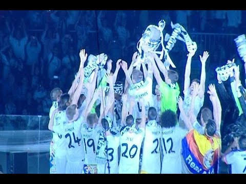 Champions League: Real Madrid Celebration