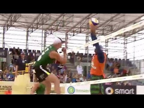 Best scores from Men's Beach Volleyball, The Hague - Universal Sports