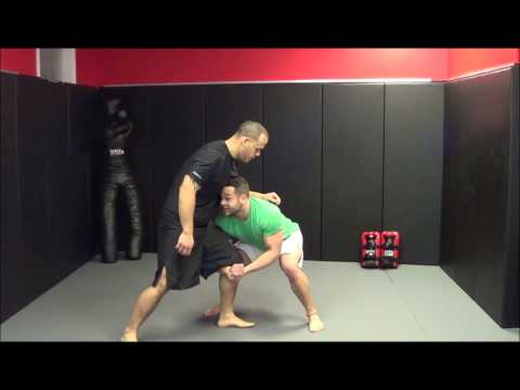 MMA Training: Single Leg to a Double Leg Takedown Image 1