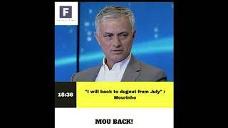 Daily Football news!!Mourinho reveals where to go