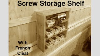 download lagu Screw Storage Shelving For My French Cleat Wall - gratis