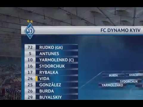 Динамо К 6:0 Бешикташ|Обзор матча