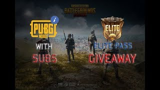 🔴PUBG MOBILE LIVE | SEASON 5 RP GIVEAWAY TODAY | NEW UPDATE | CUSTOM ROOM.