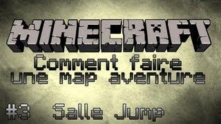 Minecraft Tuto [FR] Comment faire une map aventure - Part 3 - Salle de Jump