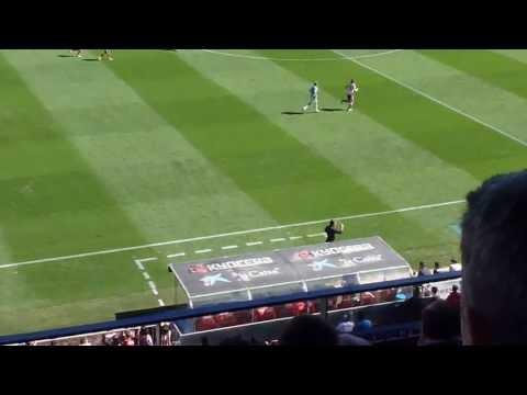 2013 2014 Atlético de Madrid   Celta   Cholo Simeone llamando al Cebolla
