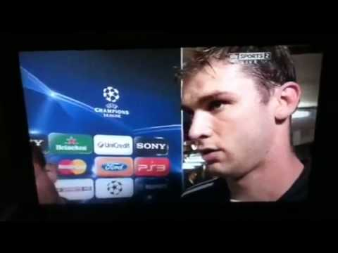 Geoff Shreeves tells Branislav Ivanovic he will miss The Champions League final 2012