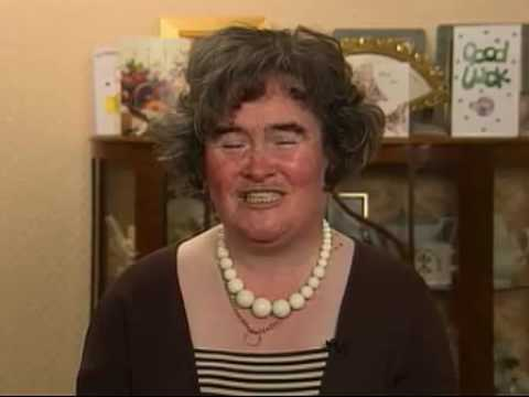 Susan Boyle Sings New Song