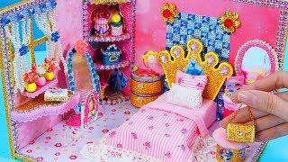 DIY Miniature Dollhouse Room ~ Disney Princess Dollhouse #20