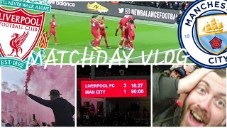 FABINHO, SALAH, MANE GOALS SMASH CITY! LIVERPOOL 3-1 MAN CITY | MATCHDAY VLOG