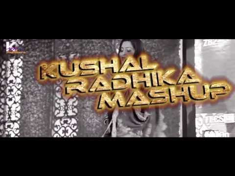 Kushal Radhika Mashup video