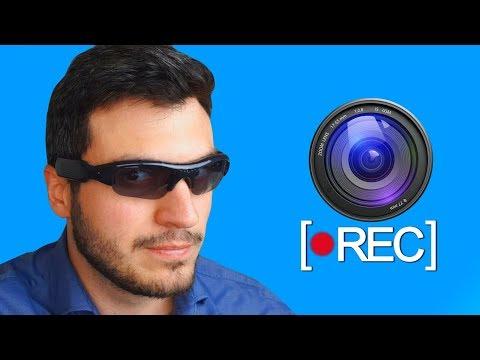 Testei um Óculos ESPIÃO com Câmera Escondida!! ( Vlad Espião ) thumbnail