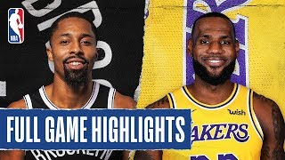 NETS at LAKERS | FULL GAME HIGHLIGHTS | March 10, 2020