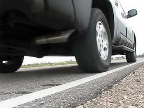Chevy Avalanche Exhaust Video