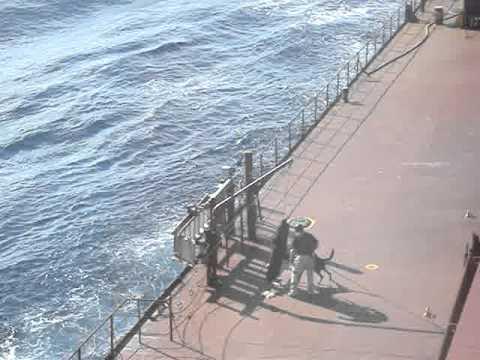 somalian pirates on board vessel
