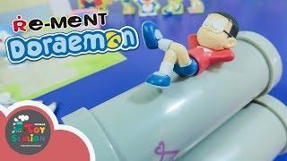 Bộ sưu tập Doraemon với sân chơi 3 ống cống y như trong truyện ToyStation 217