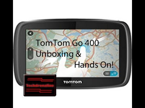 TomTom Go 400 Unboxing and hands on!