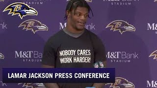Lamar Jackson Is Still Mad About His Fumble | Baltimore Ravens
