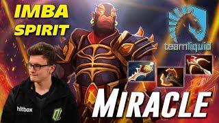 """Miracle Ember """"IMBA SPIRIT"""" Gameplay Dota 2"""