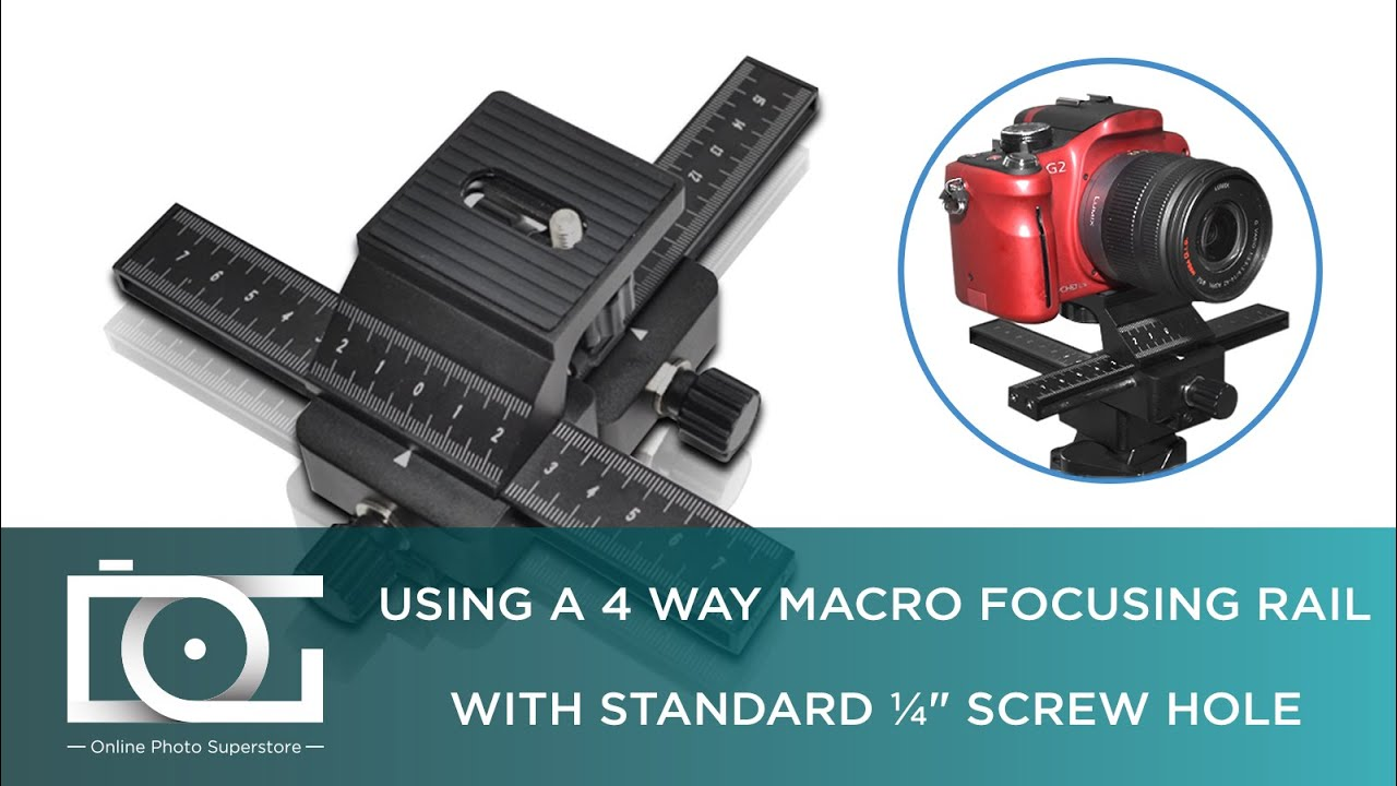 How to Use a Focusing Rail in Macro Photography