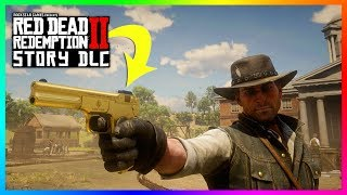 Red Dead Redemption 2 NEW Story Mode DLC Content - The M1899 Semi Auto Pistol! (How To Get It)